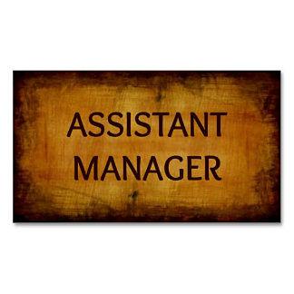 Assistant Manager Job in Dubai, UAE