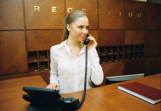 Receptionist job in Riyadh, Saudi Arabia