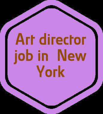 Art director job in New York, NY
